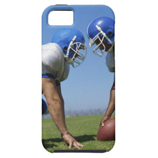 side profile of two football players playing on iPhone SE/5/5s case