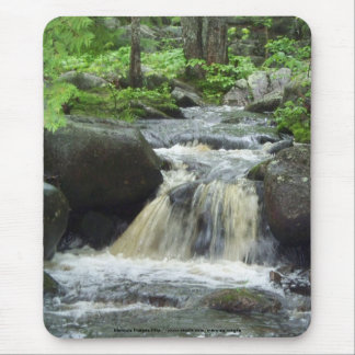 Side runoff from Grand Falls Mouse Pad