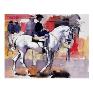 Side-saddle at the Feria de Sevilla 1998 Postcard