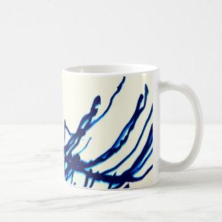 side to side, digital art coffee mug