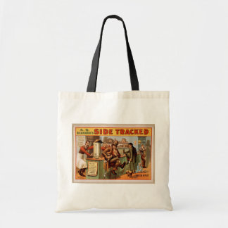 Side Tracker,'Quick Lunch' Vintage Theater Tote Bag