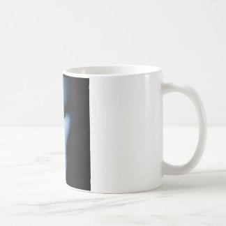 Side View Blue Alien Like Face.jpg Coffee Mug