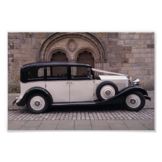 Side View of 1936 Rolls Royce 20/25 Poster