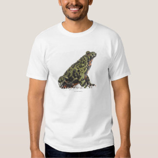 Side View of an Oriental Fire Bellied Toad Shirt
