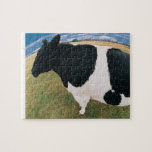 Side View of Friesian Cow Puzzle