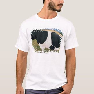 Side View of Friesian Cow T-Shirt