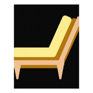 Side view of home or office furniture- sofa letterhead