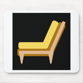 Side view of home or office furniture- sofa mouse pad