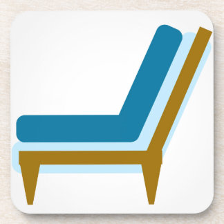 Side view of home sofa drink coaster