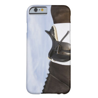 side view of saddled horse barely there iPhone 6 case