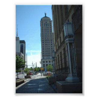 Side View of the Liberty Building in Buffalo NY Photo Print