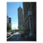 Side View of the Liberty Building in Buffalo NY Photographic Print