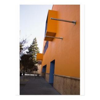 Side view of the Tech Museum, San Jose, California Postcard