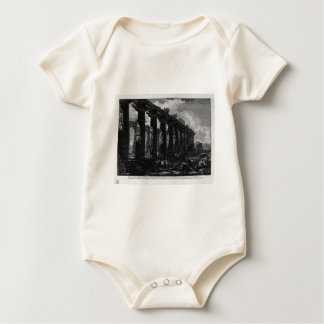Side View of the Temple of Juno Giovanni Battista Baby Bodysuit