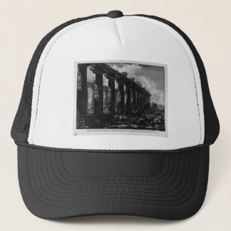 Side View of the Temple of Juno Giovanni Battista Trucker Hat