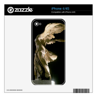 Side view of the Victory of Samothrace (Parian mar Skins For The iPhone 4S