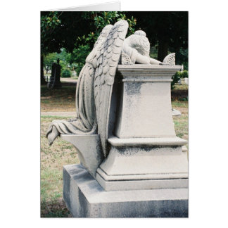 Side View of Weeping Angel Card with store id