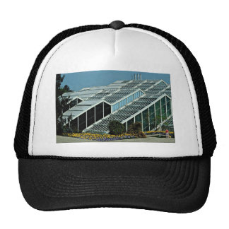 Side view, Princess of Wales Conservatory, England Trucker Hat