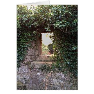 Side Window at West Kirk Culross Card