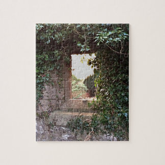 Side Window at West Kirk Culross Jigsaw Puzzle