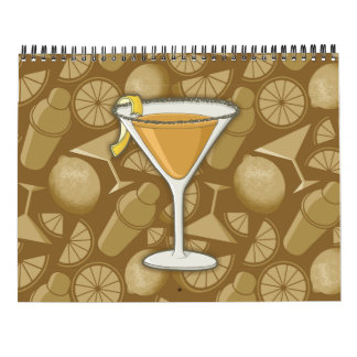 Sidecar cocktail calendar