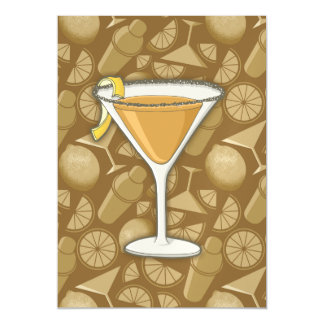 Sidecar cocktail magnetic card