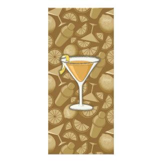 Sidecar cocktail rack card