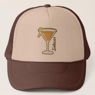 Sidecar cocktail trucker hat