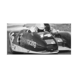 Sidecar number 14 canvas print