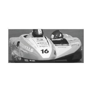 Sidecar number 16 canvas print