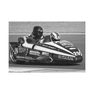 Sidecar number 29 canvas print