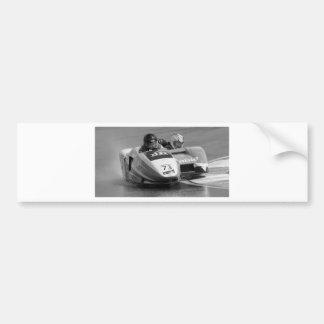 Sidecar number 73 car bumper sticker