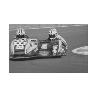 Sidecar number 77 canvas print