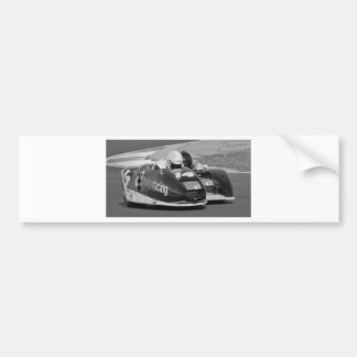 Sidecar outfit car bumper sticker