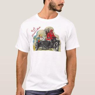 Sidecar Santa T-Shirt