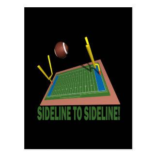 Sideline To Sideline Postcard