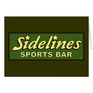 sidelines sports bar extract movie mike judge greeting cards