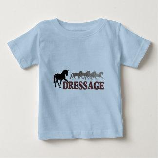 Sidepass Dressage (black/burgundy) Baby T-Shirt