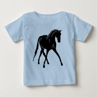Sidepass Dressage Horse Baby T-Shirt