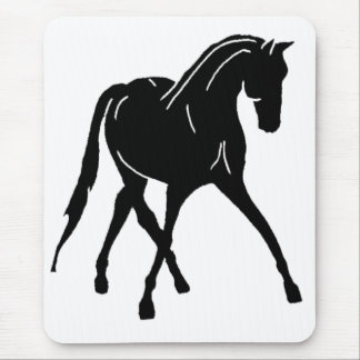 Sidepass Dressage Horse Mouse Pad