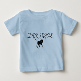 Sidepass Horse With Dressage Text Baby T-Shirt