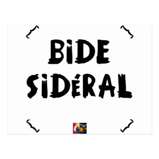 SIDEREAL BELLY POSTCARD