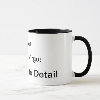 Sidereal Moon in Virgo: Attention to Detail Mug