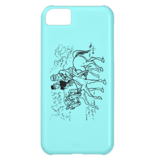 Sidesaddle Ride In The Park Cover For iPhone 5C