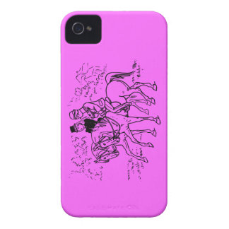 Sidesaddle Ride In The Park iPhone 4 Cover