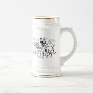 Sidesaddle Ride In The Park 18 Oz Beer Stein