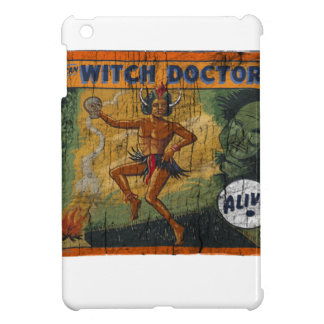 Sideshow Banner Witch Doctor iPad Mini Cover