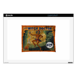 Sideshow Banner Witch Doctor Laptop Skins