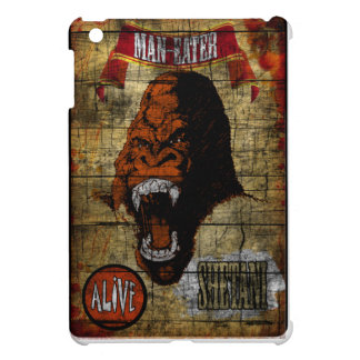Sideshow Banner with Man Eating Gorilla iPad Mini Case