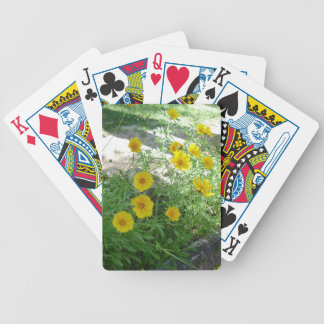 Sidewalk Beauty Bicycle Playing Cards